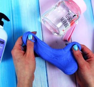 Как сделать слайм из крема