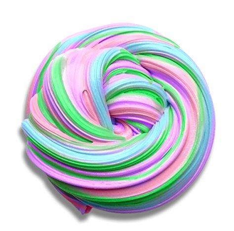 разноцветный слайм