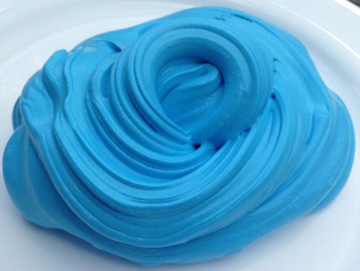 синий слайм