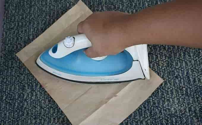 Как убрать пластилин с ковра в домашних условиях
